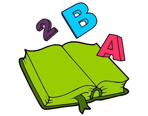Libreta De Dibujo Con Dibujos Infant: Dibujo Libro Animado Abierto