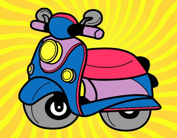 Dibujos de Motos para Colorear  Dibujosnet