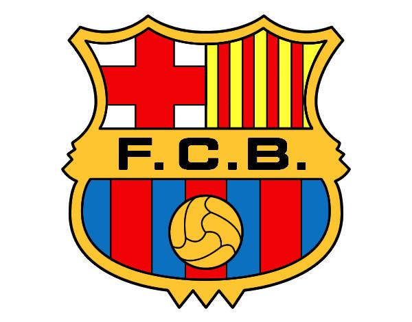 Dibujo de Escudo del F.C. Barcelona pintado por Felicaso en ...