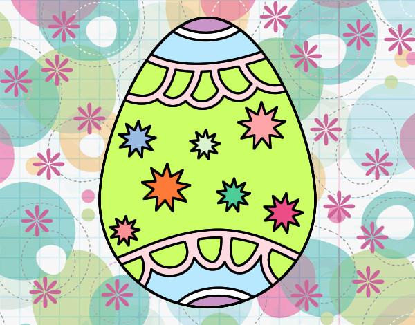 Dibujos de Huevos de Pascua para Colorear  Dibujosnet