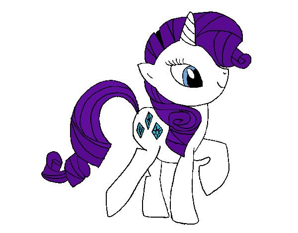 Dibujo de My Little Pony pintado por Sofi8 en Dibujosnet el da