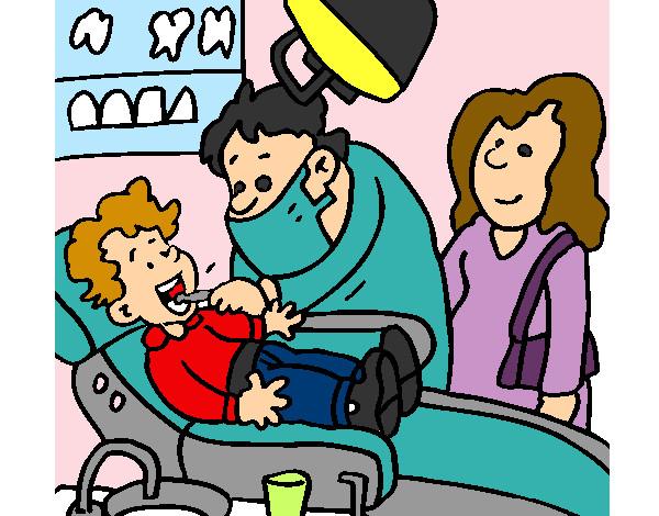 Dibujo de ni o en el dentista pintado por anyio16 en for El dibujo de los arquitectos pdf