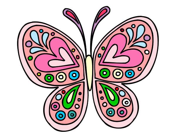 dibujos mariposas con color imagui