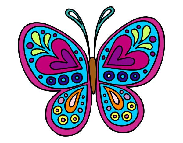 Dibujo de super mariposa pintado por clawdee en dibujos - Dibujos infantiles para imprimir pintados ...