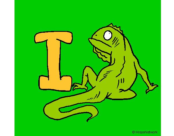 Dibujo de Iguana pintado por Silvioa en Dibujosnet el da 1012
