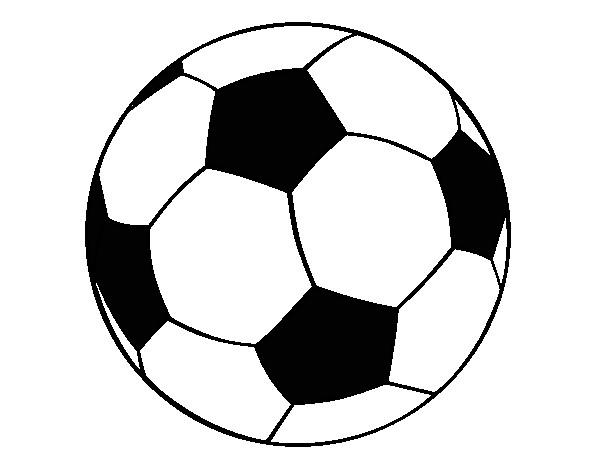f718796389750 Dibujo de Pelota de fútbol II pintado por Superbenji en Dibujos.net ...