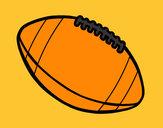Dibujo Balón de fútbol americano pintado por JoseMigue