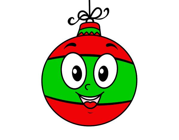 Dibujo de bola de rbol de navidad pintado por hilary123 for Dibujos de navidad pintados