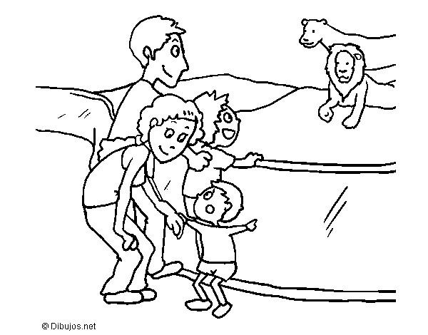 dibujo de zoo pintado por canela83 en dibujos net el d a 10 01 14 a Uruguay Zoo zoo