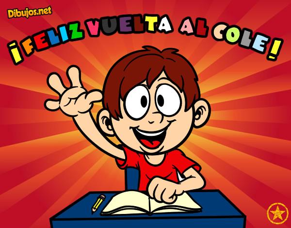 Colorear Vuelta Al Cole 15: Dibujo De ¡Feliz Vuelta Al Cole! Pintado Por Jonathan34 En