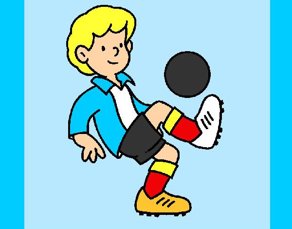 Dibujo De Fútbol Pintado Por Fustapa13 En Dibujos Net El: Dibujo De Fútbol Pintado Por Axeschmidt En Dibujos.net El