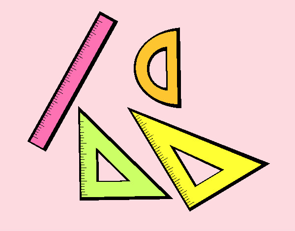 Dibujo De Material De Geometría Pintado Por Natyp En Dibujosnet El