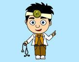 Dibujo Doctor pintado por Elyza
