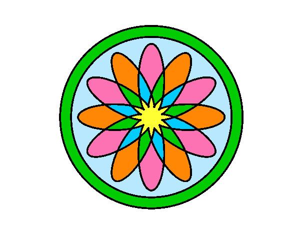 34 Mandalas Para Imprimir Y Colorear: Dibujo De Mandala 34 Pintado Por Medith En Dibujos.net El
