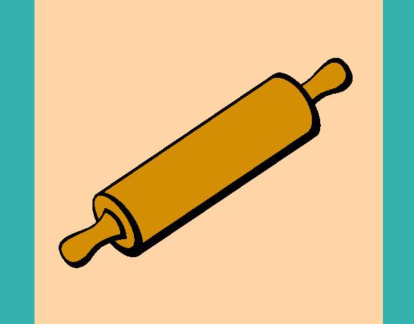 Dibujo de rodillo de cocina pintado por juanrafaru en for Rodillo cocina