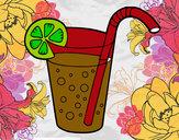 Dibujo Vaso de refresco pintado por james_9