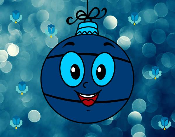 Dibujo de bola de rbol de navidad pintado por 55160899 en - Bolas de arbol de navidad ...