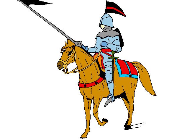 Dibujo de Caballero medieval pintado por Jemaxes en Dibujos.net el ...