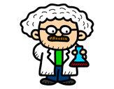 Dibujo Maestro en ciencias pintado por alexiss