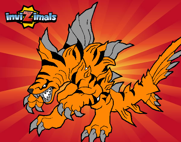 Dibujo de tigershark pintado por batudino en el d a 11 07 14 a las 17 52 00 imprime - Tigershark invizimals ...