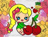 Dibujo Dulces cerezas pintado por ainhoa2014