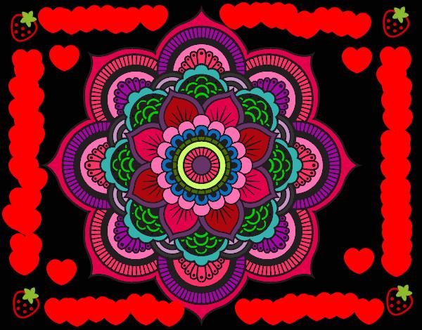 Dibujo de amor de varios colores pintado por Minzy en Dibujosnet