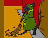 Dibujo La ratita presumida 1 pintado por amalia