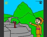 Dibujo Perú pintado por ishmaell