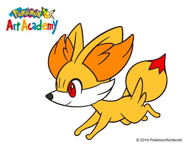 Dibujos Para Colorear Alicia 16: Dibujo De Fennekin Corriendo Pintado Por Alicia2333 En