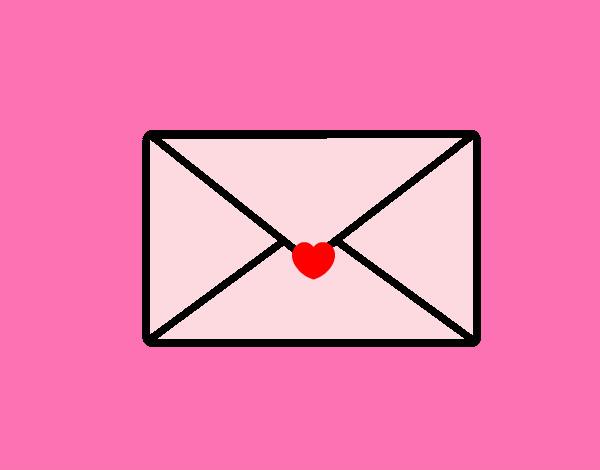 Dibujo De Carta De Amor Pintado Por Natyp En Dibujosnet El Día 26