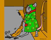 Dibujo La ratita presumida 1 pintado por Luna7000