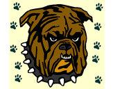 Dibujo Bull dog pintado por lirba2004
