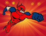 Dibujo Superhéroe sin capa pintado por miguel30