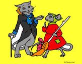 Dibujo La ratita presumida 15 pintado por susacoli