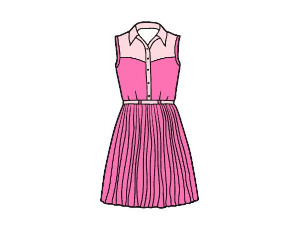 Dibujo De Vestido Tejano Pintado Por Ariannaval En Dibujos