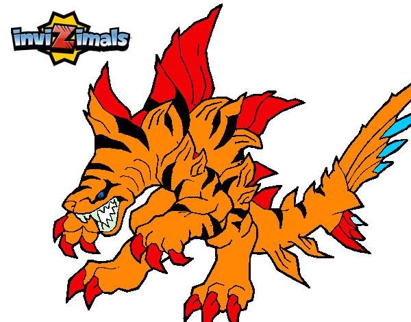 Dibujo de tigershark pintado por sergiorios en el d a 08 12 14 a las 18 41 57 - Tigershark invizimals ...