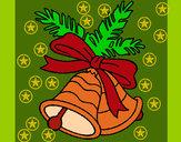 Dibujo Campanas de navidad pintado por  janm