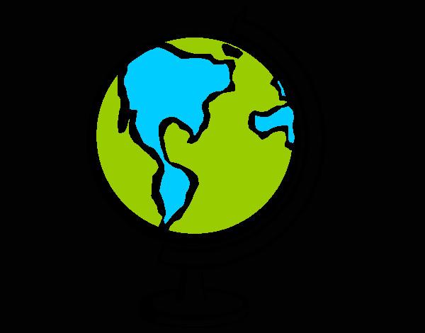 Dibujo de bola del mundo ii pintado por iderlin en dibujos - Elmundo del papel pintado ...