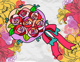 Dibujo Ramo de gardenias pintado por Puly08