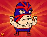 Dibujo Lucha libre pintado por DJgohan