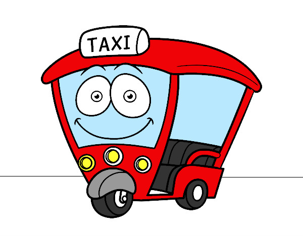 Dibujo de Moto  Taxi pintado por Chiquikath en Dibujosnet el da