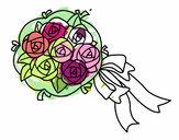 Dibujo Ramo de gardenias pintado por ZATCHEL