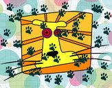 Dibujo Signo de Leo pintado por katana