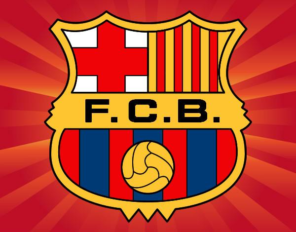 Dibujo de Escudo del F.C. Barcelona pintado por Federico1 en ...
