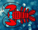 Dibujo Crustáceo pintado por JuanMar3