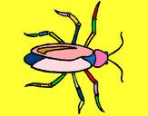 Dibujo Cucaracha pintado por Mariadelca
