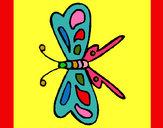 Dibujo Mariposa 12 pintado por Mariadelca