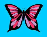 Dibujo Mariposa 8 pintado por angie1235