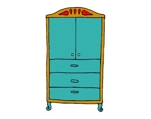 Armario Aberto Para Quarto ~ Dibujo de armario pintado por Junailizon en Dibujos net el día 26 02 15 a las 16 57 02 Imprime