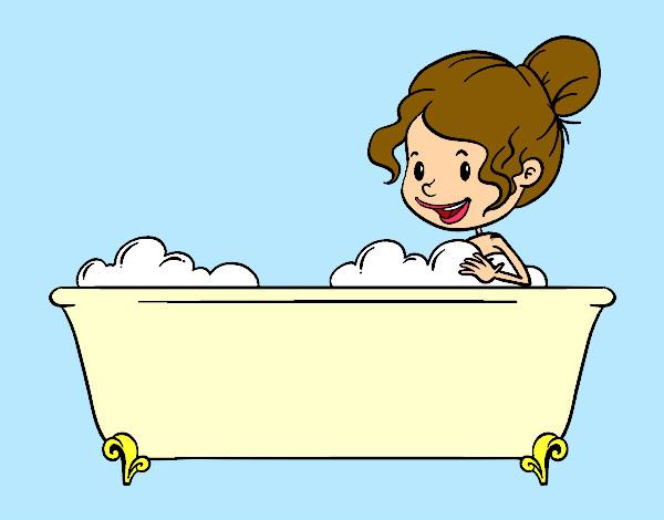 Baño O Ducha En El Embarazo:bano-la-casa-el-bano-pintado-por-queyla-9920231jpg